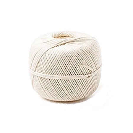 Zip Net 24BTW, #24 0.5 Lbs Butcher Twine In A Ball, Smoked Meat Poultry Ham Netting, Butcher