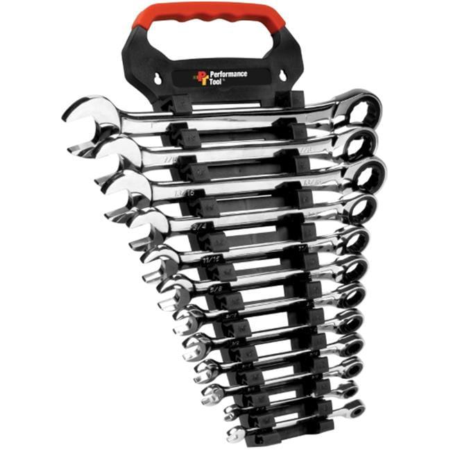 W30641 Sae Ratcheting Wrench Set