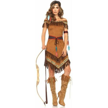 Leg Avenue 4-Piece Native Princess Adult Halloween Costume - Halloween Costumes Princess Zelda