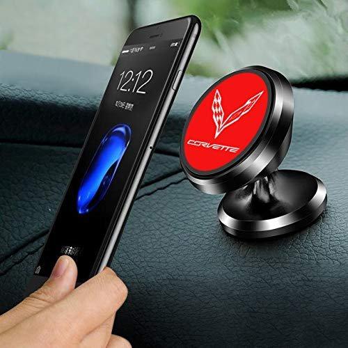 C7 Corvette Cling Magnetic Dash Phone Holder Red