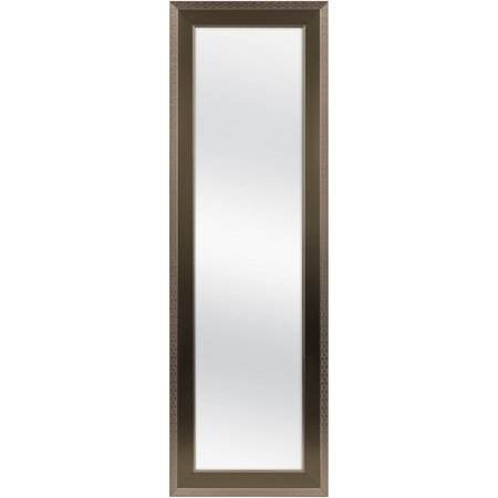 Mainstays Over-the-Door Mirror, Bronze with Gold, 17