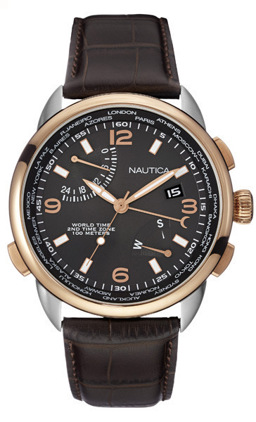 NAUTICA MEN'S WATCH NWT 01 46MM by Nautica