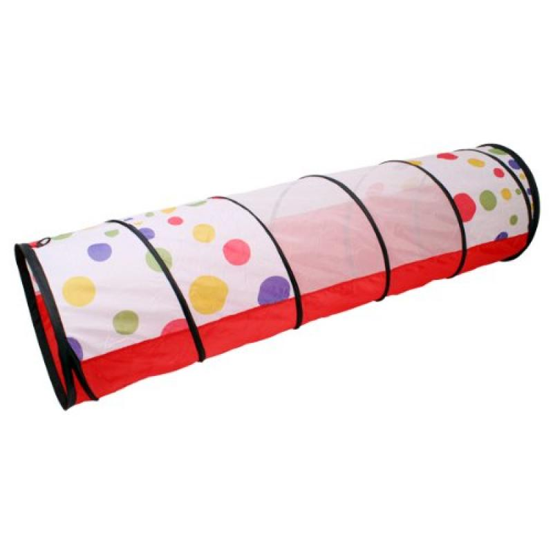 agptek Waterproof Kids Play Tunnel - Dot Design Kids Tent