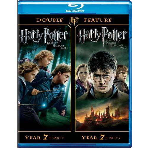 HARRY POTTER AND THE DEATHLY HOLLOWS, PARTS 1 AND 2 [BLU-RAY BOXSET]
