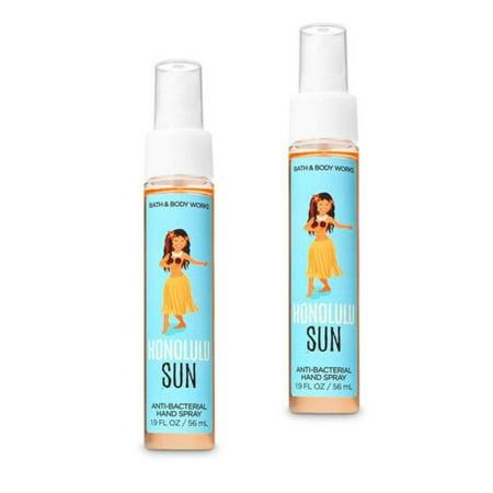 Hand Sanitizer Spray 2 Pack. Honolulu Sun 1.9 Oz