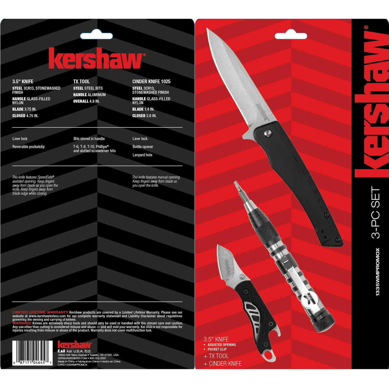 Kershaw Tool Kit - Walmart.com
