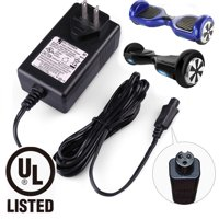 Universal Hoverboard Charger - Lithium Battery Charger for Razor Hovertrax 2.0, SWAGWAY X1, SWAGTRON T1 T3 T6, Self-balancing Hoverboard, Output 36V - 42V 1A
