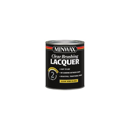 Minwax® Clear Brushing Lacquer Semi-Gloss -
