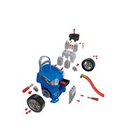 Kid Connection Take-Apart Car Engine and Racetrack Play Set, 37 Pieces