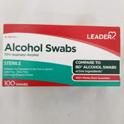 Leader Alcohol Swabs, 100 Swabs