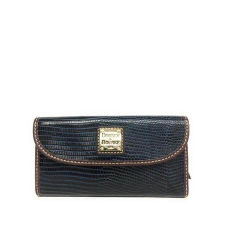 Dooney & Bourke Mini Wallet (Dooney & Bourke Lizard Embossed Leather Continental)