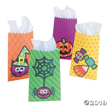 Halloween Printable Minis (Mini Halloween Treat Bags)