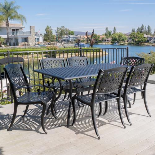 Merveilleux Fallbrook 6 Seat Dining Set
