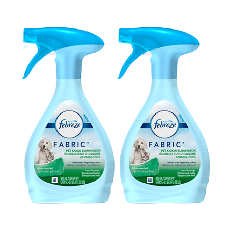 (2 pack) Febreze FABRIC Refresher, Pet Odor Eliminator, 2 Total, 27