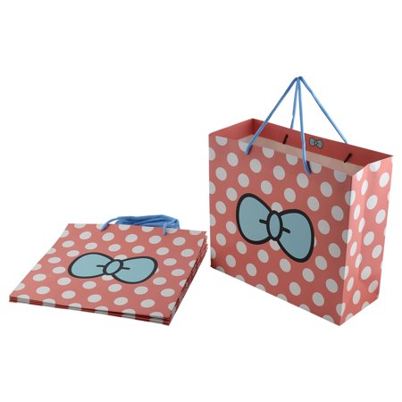 Wedding Gift Bags Walmart : ... Pattern Birthday Wedding Gift Bags Holder Pink 5pcs - Walmart.com