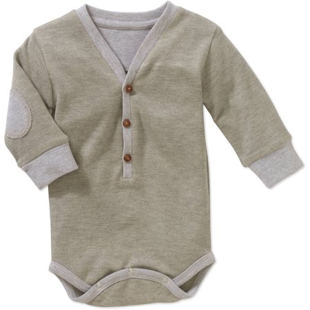 Genevieve Goings Collection by Troy James Newborn Baby Boys' Classy Cardigan Bodysuit