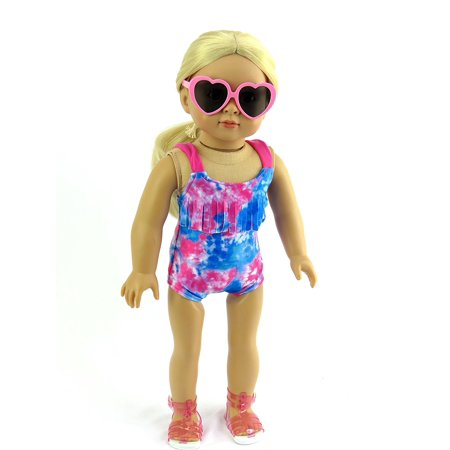Tie-dye Bathing Suit for 18 Inch Doll | Fits 18