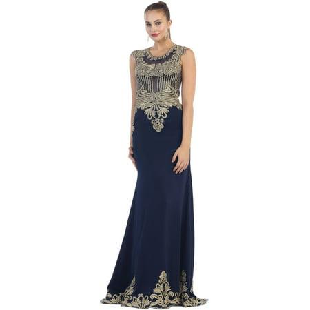 a4130f76b089 Formal Dress Shops Inc - SALE! CLASSY EVENING GOWN & PLUS SIZE - Walmart.com