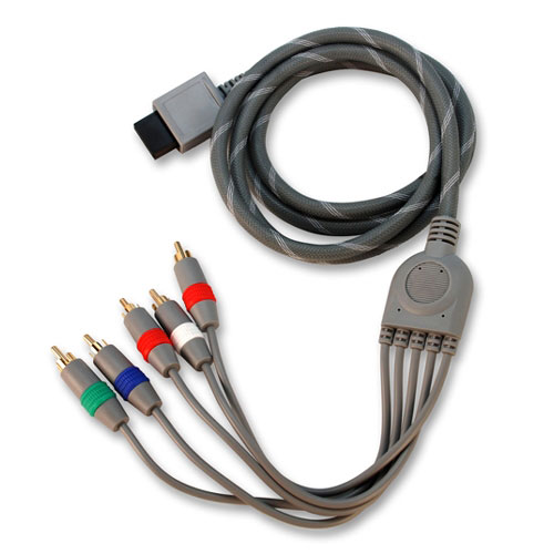 ezGear HD Pro Component Gold Cable (Wii)