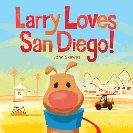 Larry Loves San Diego (Board Book)