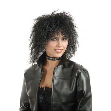 Unisex Mens Or Womens Blonde Punk Idol 80S Rock Star Wig for $<!---->