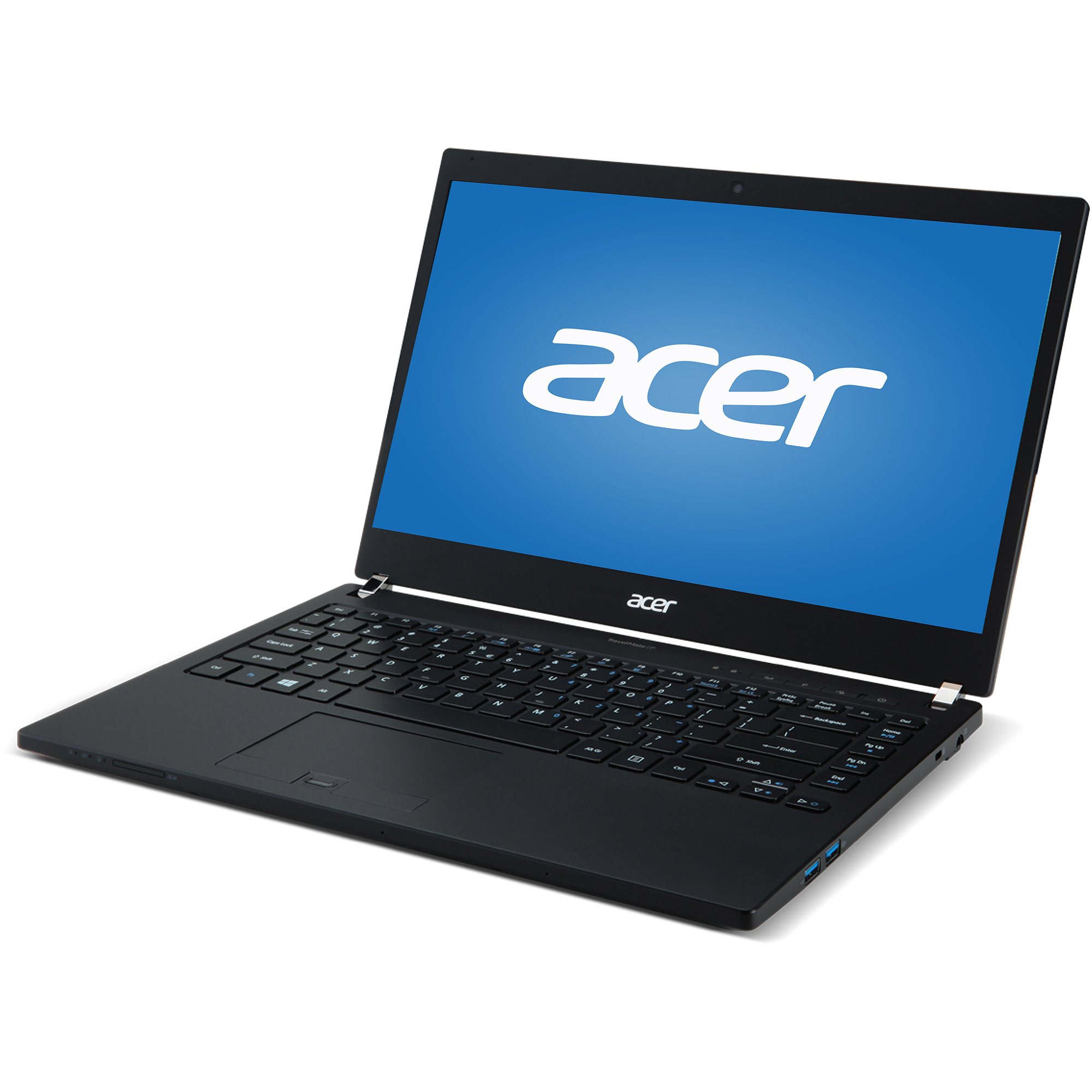 "Acer Black 14"" TravelMate P6 TMP645-MG-5409 Laptop PC with Intel Core i5-4200U Dual-Core Processor, 8GB Memory, 128GB SSD and Windows 7 Professional"