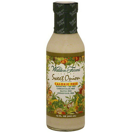 Walden Farms Calorie Free - Walden Farms Jersey Sweet Onion Dressing, 12 oz (Pack of 6)