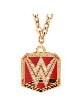 Official WWE Authentic  Universal Championship (Red) Pendant