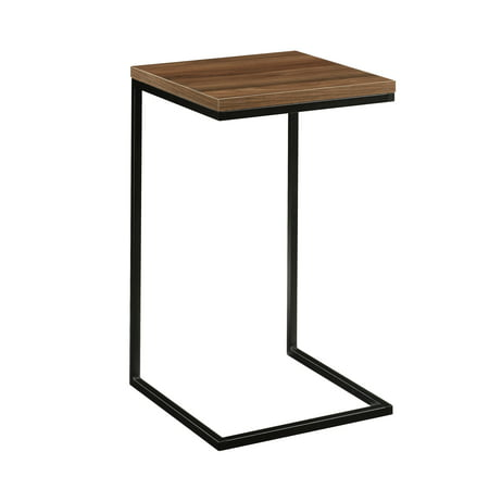 Mainstays Side C Table, Canyon Walnut