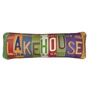 Manual Woodworkers & Weavers Lake House Lumbar Pillow