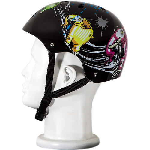 Punisher Skateboards Elephantasm Adjustable All-Sport Skate-Style Helmet, Medium