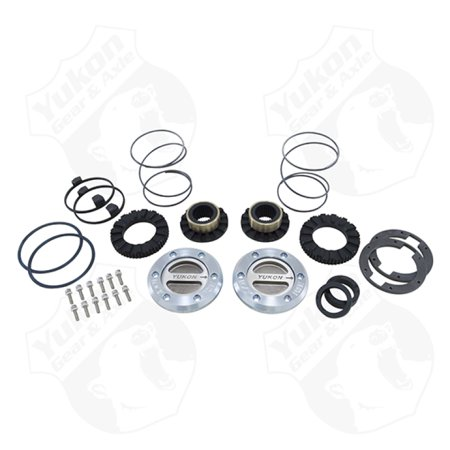 Down 30 Spline - Yukon Gear Hardcore Locking Hub Set For Dana 60 / 30 Spline. 99-04 Ford
