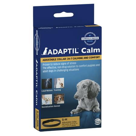 Adaptil Calming Adjustable Dog Collar, Small/Medium