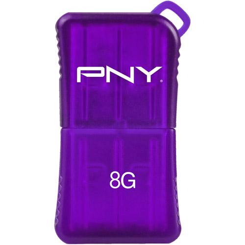 PNY Technologies 8GB Micro Sleek Attache 2. 0 USB Flash Drive