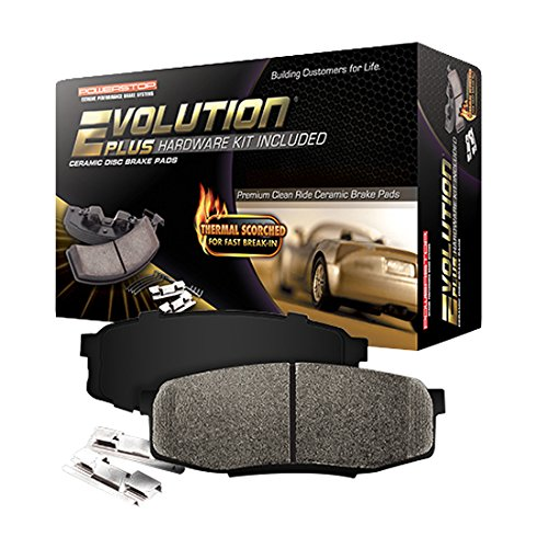 Power Stop 17-1707 Z17 Evolution Plus Rear Brake Pad Set with Hardware Kit