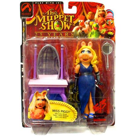 The Muppets The Muppet Show Miss Piggy Action Figure [Blue Dress]](Muppet Dress)