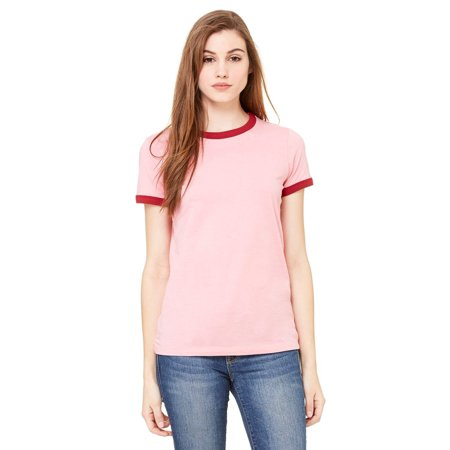 Women's Jersey Short-Sleeve Ringer T-Shirt