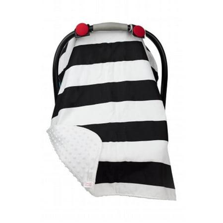 Caught Ya Lookin' S316-205-103-39 Car Seat Cover, Black Stripe - image 1 of 1