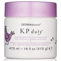 DERMAdoctor KP Duty Dermatologist Formulated Body Scrub with Chemical 16 oz