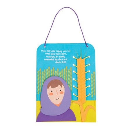 Ruth's Barley Lacing Sign Craft