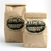 Jims Organic Coffee Joc Tin Tie Bag