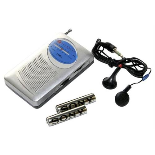 Guardian LCRH Am-Fm Radio with headphones and batteries