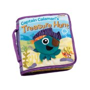 Lamaze Captain Calamari's Treasure Hunt Soft Book Soft Baby Book