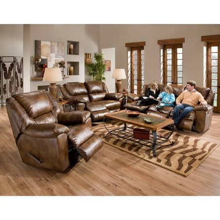 Catner Transformer Leather Reclining Sofa Set Toast Loveseat Recliner