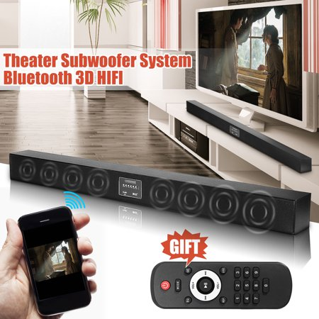 573e2a1d5 Powerful Bass 8 Horn 3D Stereo Soundbar TV Speaker Wireless bluetooth Sound  Bar Box MP3 Home