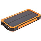 Solar Chargers 12000mh Fbest Portable Dual USB Solar Battery Fast Charger External Battery Pack Solar Phone