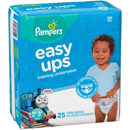 Pampers Easy Ups Boys' PJ Masks Training Underwear Jumbo Pack - Size 2T-3T - 25ct