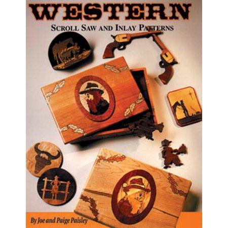 Western Scroll Saw and Inlay Patterns](Western Craft)