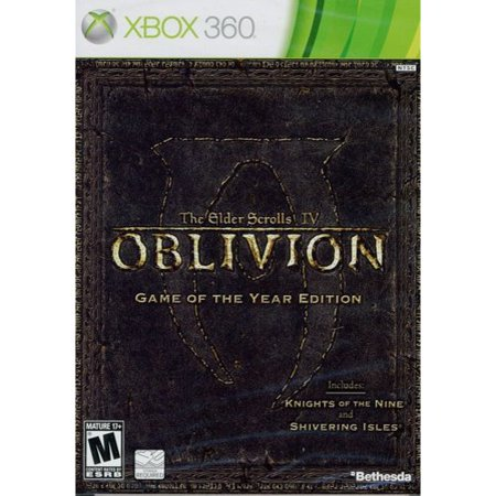 The Elder Scrolls Iv  Oblivion Game Of The Year Edition  Xbox 360  Bethesda Softworks  93155118157