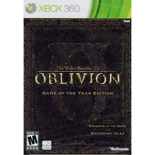 The Elder Scrolls IV: Oblivion Game-of-the-Year Edition (Xbox 360) Bethesda Softworks, 93155118157